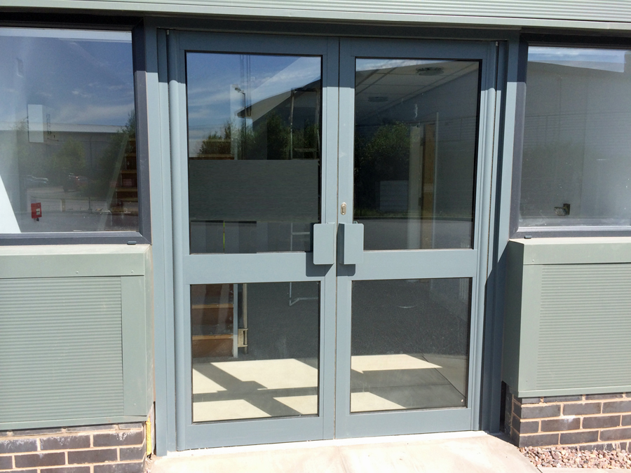 Automatic doors in leeds west yorkshire for Double opening front doors